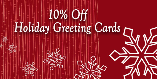 10% OFF Early Holiday Cards