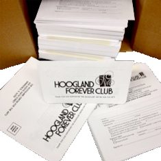 Donation Envelopes (Hoogland Center for the Arts)