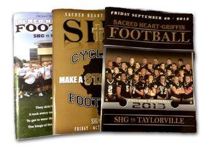 Event Programs (SHG Football)