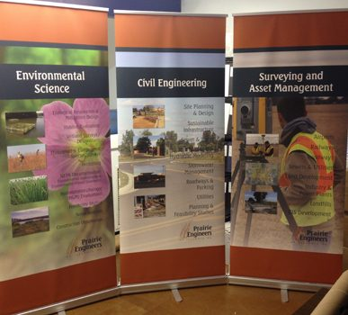 Banner-Up Displays (Patrick Engineers)