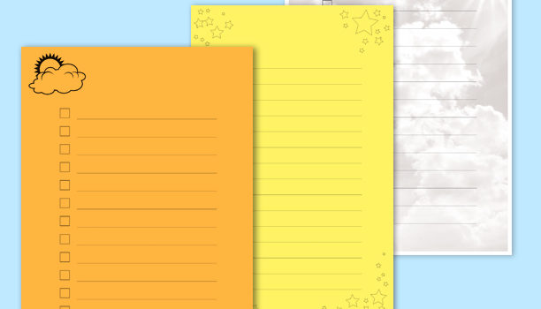 Checklist Notepads