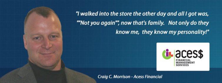 Craig Morrison - Access