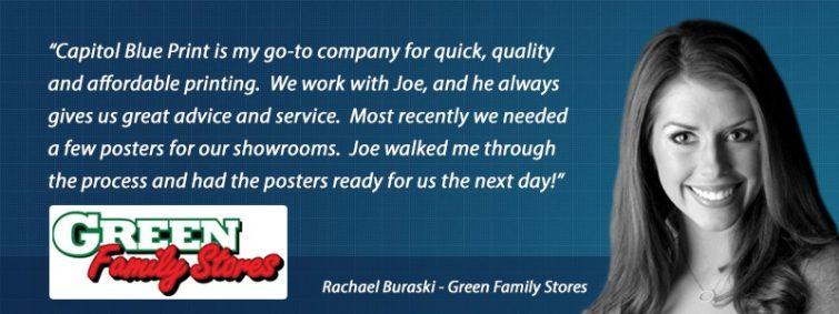 Rachael Buraski- Green Family Stores